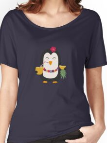 Hawaii Penguin   Women's Relaxed Fit T-Shirt
