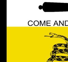 Texas Anarchist Flag Sticker