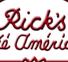 Rick's Cafe Americain Sticker