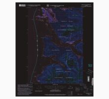 USGS TOPO Map Alaska AK Sitka B-2 359101 2000 63360 Inverted One Piece - Long Sleeve