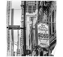 chicago boss Poster