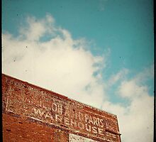 ghost sign by Lenore Locken