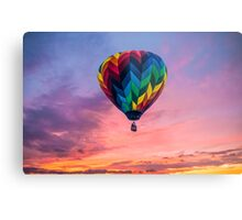 Flying Through The Colorful Sky Metal Print