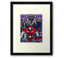 Decepticons, Rise Up! Framed Print