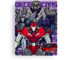 Decepticons, Rise Up! Canvas Print