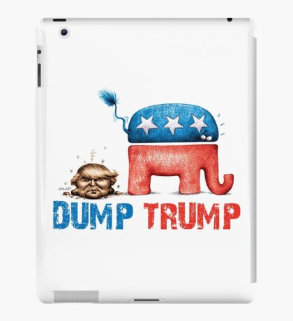 DUMP TRUMP iPad Case/Skin