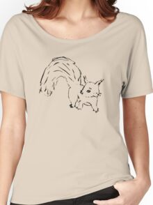 Squirrel doodle Women's Relaxed Fit T-Shirt