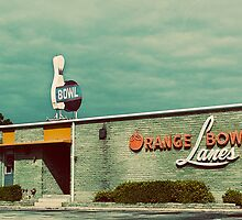 orange bowl lanes by Lenore Locken