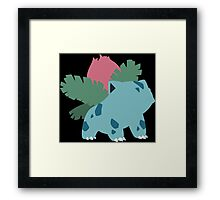 Kanto Starters - Ivysaur Framed Print
