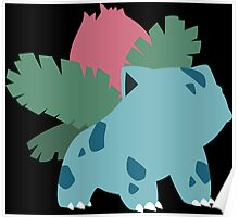 Kanto Starters - Ivysaur Poster