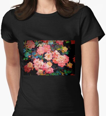 Rose 319 Womens Fitted T-Shirt