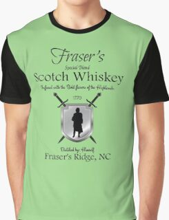 Outlander/Frasers Scotch whiskey Graphic T-Shirt