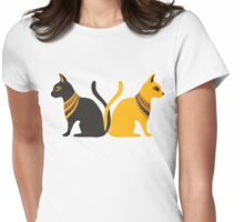 Bastet Womens Fitted T-Shirt