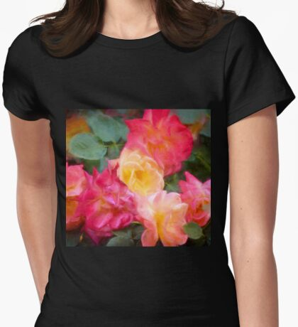 Rose 357 Womens Fitted T-Shirt