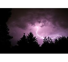 Lightning Strike Photographic Print