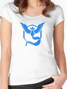 Team Mystic Pokemon Go shirt Women's Fitted Scoop T-Shirt