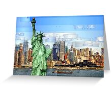 Statue of Liberty - New York City Greeting Card