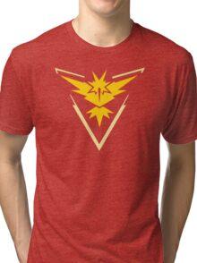 Team Instinct Pokemon Go shirt Tri-blend T-Shirt