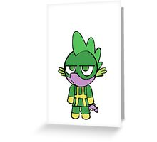 Hydra Spike Greeting Card