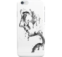 The Weeping Lady: Black & White iPhone Case/Skin