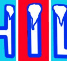 CHILL Sticker