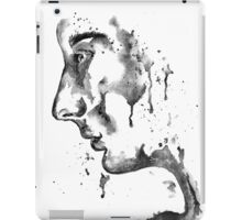 The Weeping Lady: Black & White iPad Case/Skin