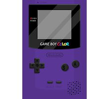 Gameboy Color 2.0 - Purple Photographic Print