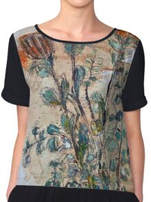 Australian flowers Chiffon Top