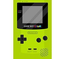 Gameboy Color 2.0 - Green Photographic Print