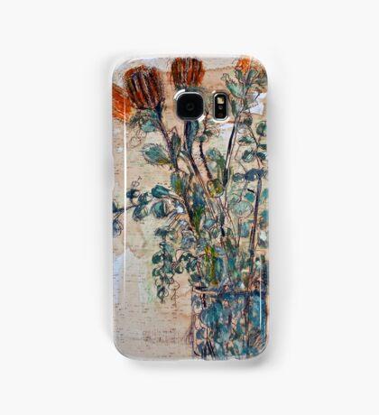 Australian flowers Samsung Galaxy Case/Skin
