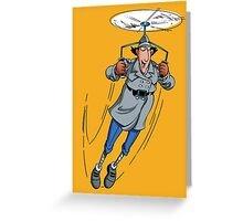 Gadget Copter Greeting Card