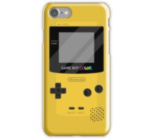 Gameboy Color 2.0 - Yellow iPhone Case/Skin