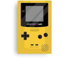 Gameboy Color 2.0 - Yellow Canvas Print