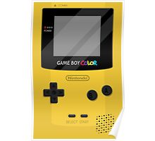Gameboy Color 2.0 - Yellow Poster