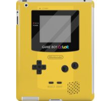 Gameboy Color 2.0 - Yellow iPad Case/Skin