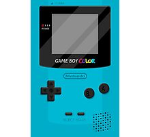Gameboy Color 2.0 - Teal Photographic Print