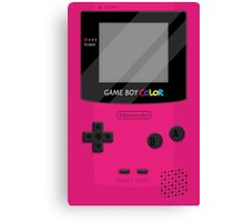 Gameboy Color 2.0 - Berry Canvas Print