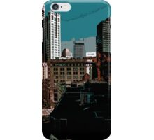 City // Comic Style iPhone Case/Skin