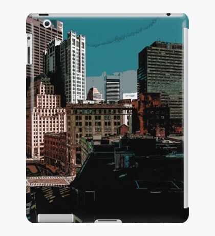City // Comic Style iPad Case/Skin