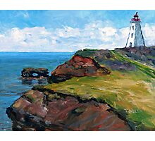 Cap Egmont Lighthouse PEI Photographic Print