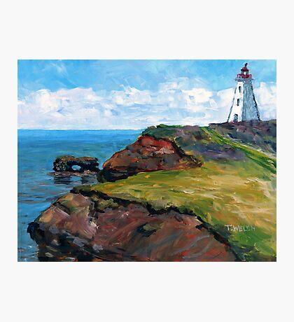 Cap Egmont Lighthouse PEI Photographic Print
