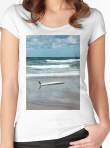 Float In Women's Fitted Scoop T-Shirt