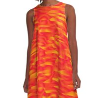 Abstract 080716(011) A-Line Dress