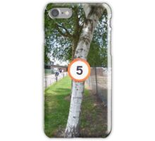 Number 5 on Tree Trunk iPhone Case/Skin