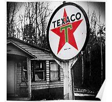 trust texaco Poster