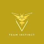Pokemon Go - Team Instinct by TheBagelMonster