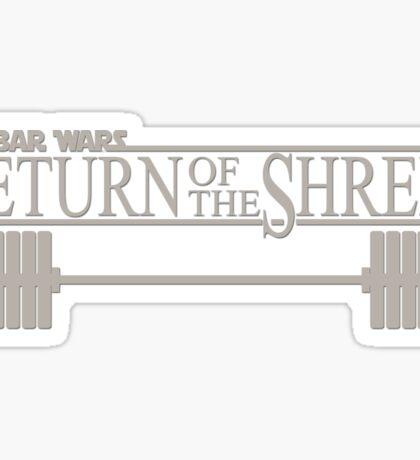 Bar Wars - Return of the Shredi Sticker