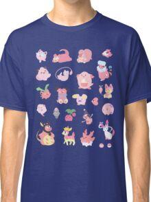 Pink Pokemon Classic T-Shirt