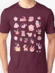 Pink Pokemon Unisex T-Shirt