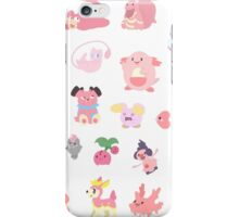 Pink Pokemon iPhone Case/Skin